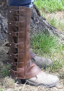 Portuguese Leather Half Chaps