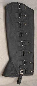 #6 Portuguese Style Leather Half Chaps