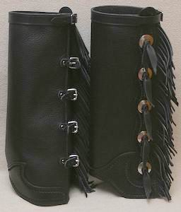 #7 Western Style Half Chaps