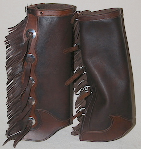 #9 Western Style Half Chaps