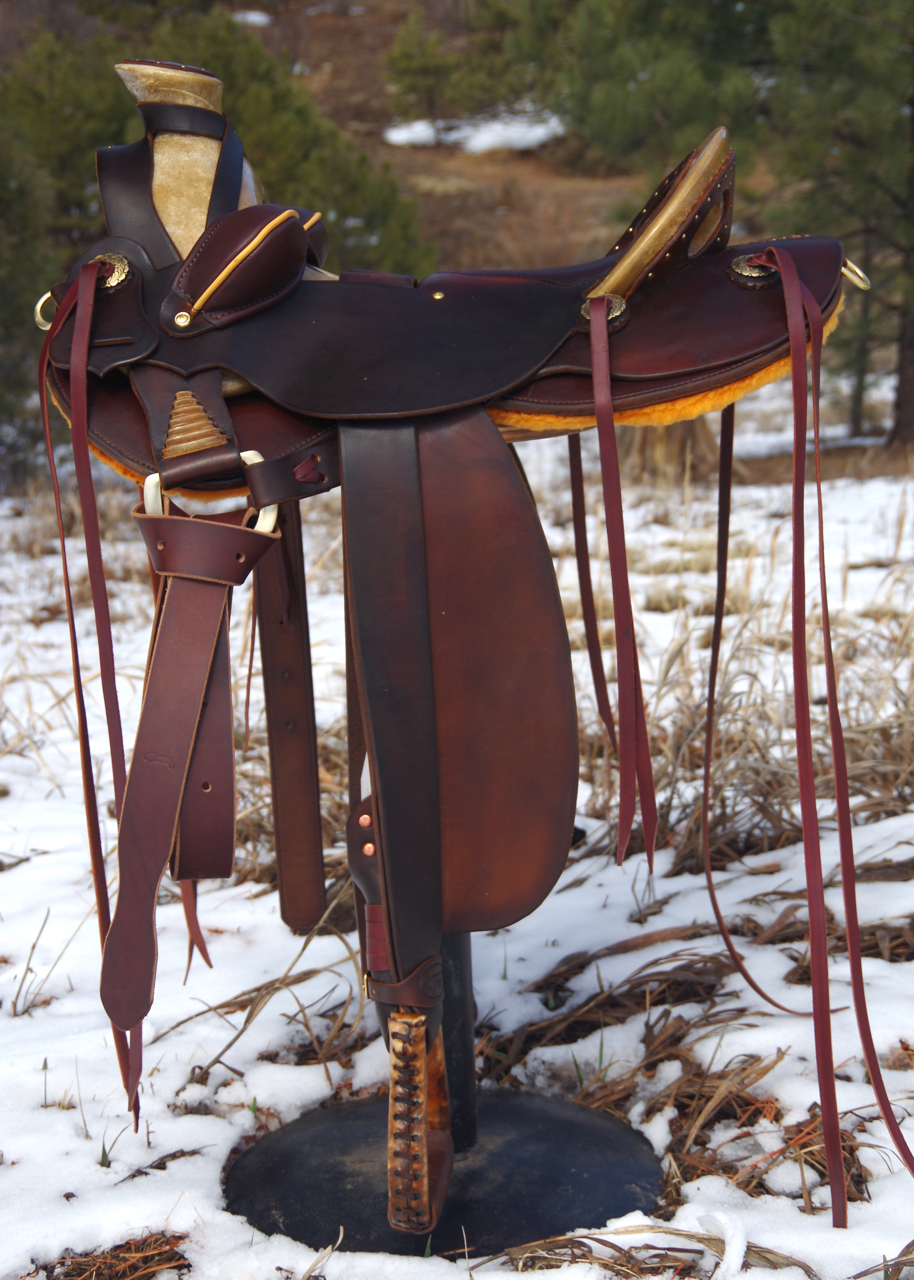 Out West Saddlery #98 Custom Saddle