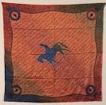 Original Houlihan Wild Wild Rags Silk Scarf