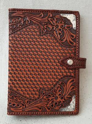 Leather Tooled Notebook