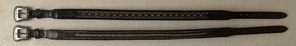 Horse Hair Belts