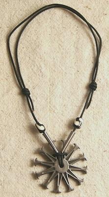 Spur Rowel Necklace