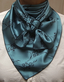 Cowboy Images Straw on Teal