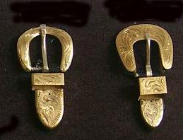 Brass Abilene and Santa Fe Buckles Sets