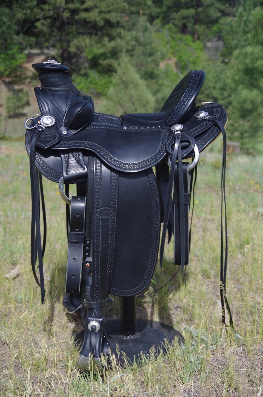 Out West Saddlery Vaquero Wade Saddle