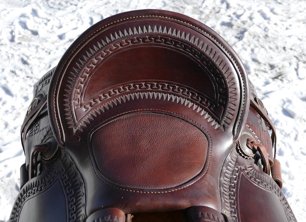 Out West Saddlery Custom Saddle For Sale